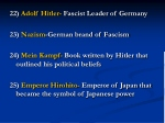22 adolf hitler fascist leader of germany
