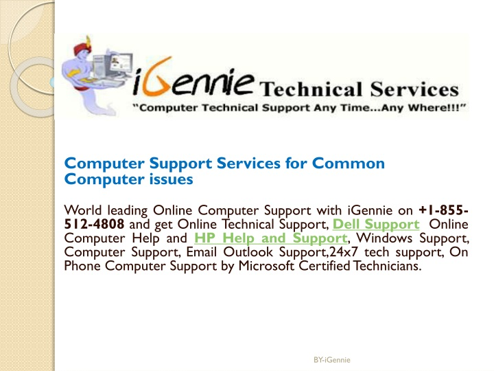 computer support services for common computer n.