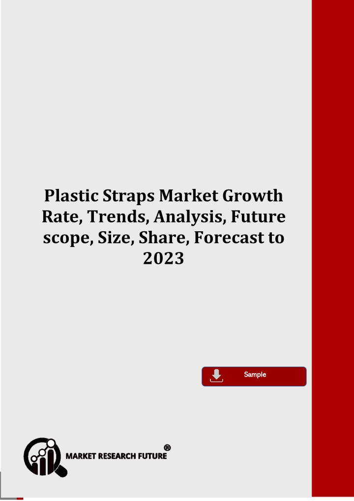 plastic straps market growth rate trends analysis n.