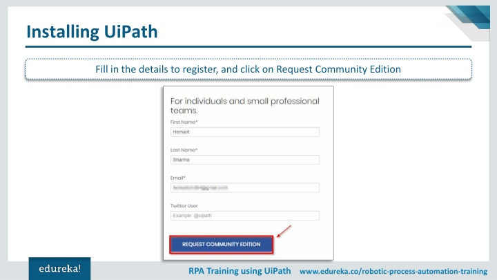 PPT - Introduction To UiPath | RPA Tutorial For Beginners