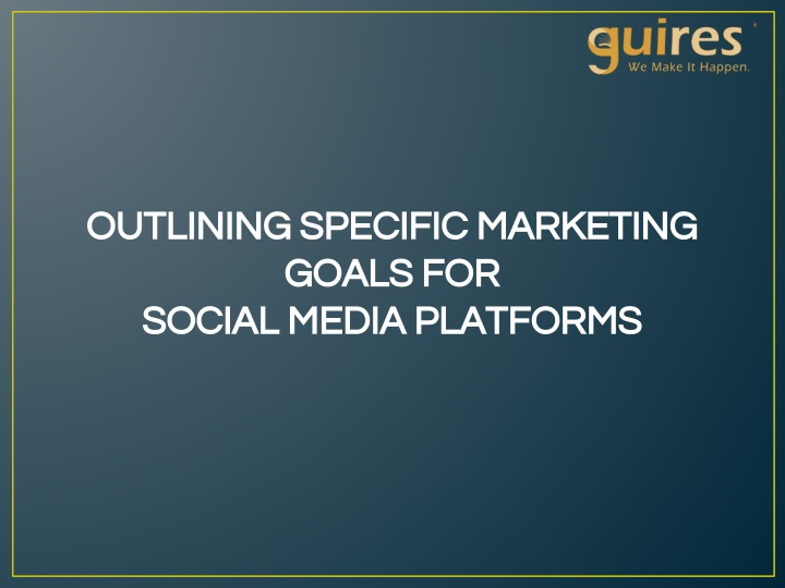 outlining specific marketing outlining specific n.