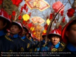 performers rehearse a re enactment of a chinese