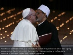 pope francis and grand imam of al azhar sheikh