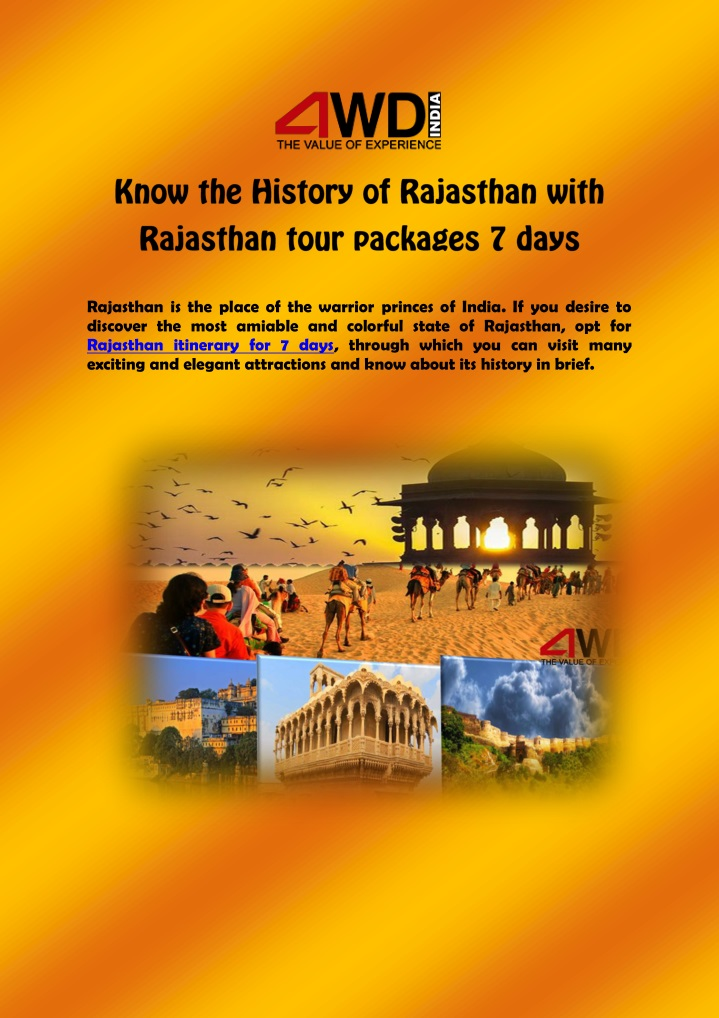rajasthan is the place of the warrior princes n.