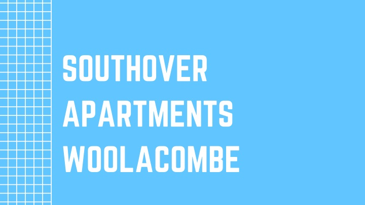 southover apartments woolacombe n.