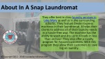 about in a snap laundromat