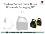 custom printed gable boxes wholesale packaging ny