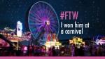 ftw i won him at a carnival