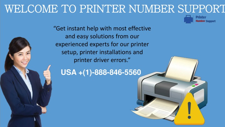 welcome to printer number support n.