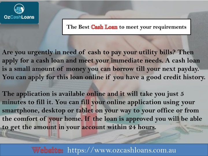 the best cash loan to meet your requirements n.