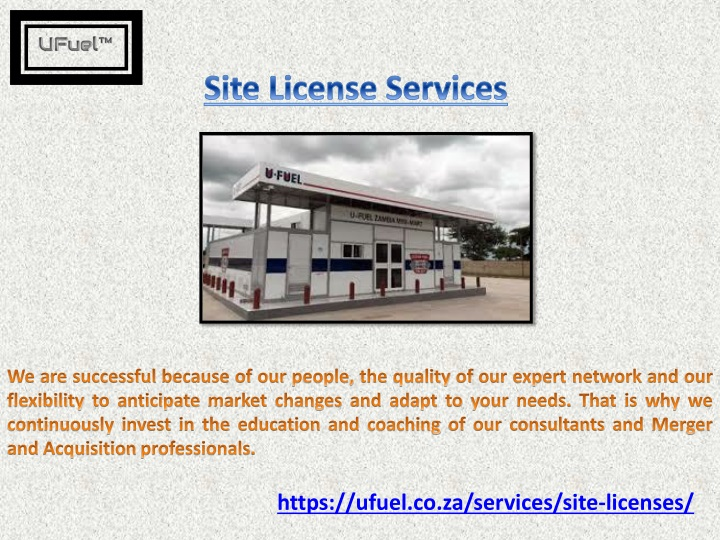 site license services n.