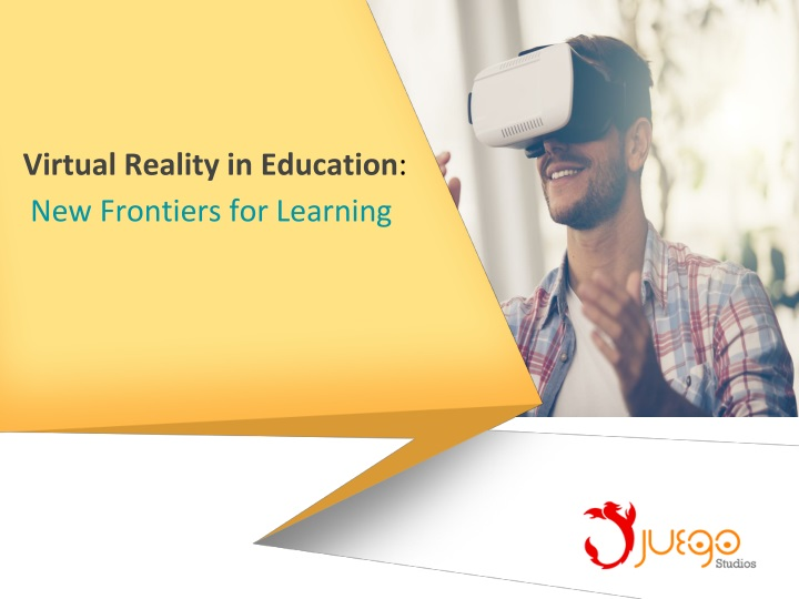 virtual reality in education new frontiers n.