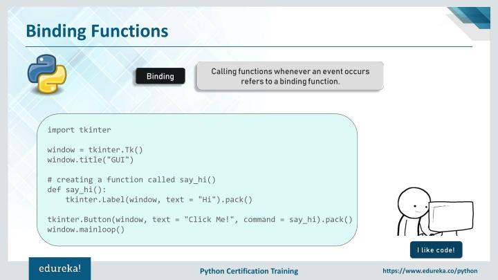 PPT - Tkinter Python Tutorial | Python GUI Programming Using Tkinter