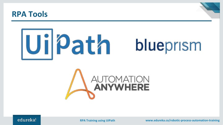 PPT - RPA Tutorial for Beginners | RPA Training Using UiPath
