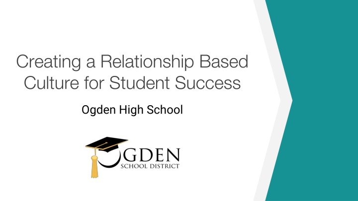 creating a relationship based culture for student success n.