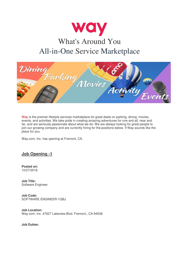 what s around you all in one service marketplace n.