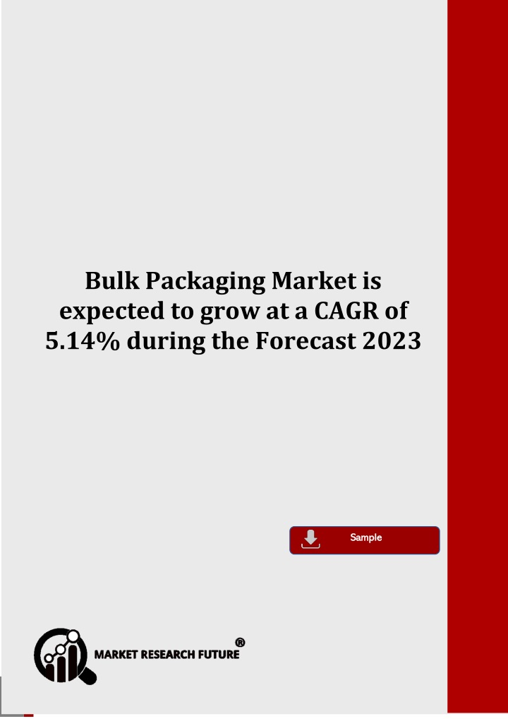 bulk packaging market is expected to grow n.