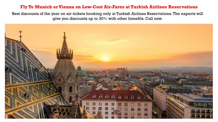fly to munich or vienna on low cost air fares n.