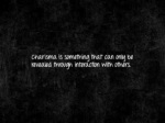 charisma is somenning thar can onug be revealed
