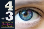 exercises tips to reduce your eye strain