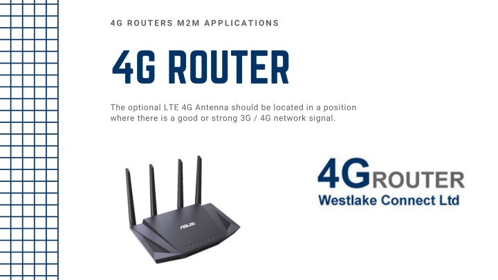 4g routers m2m applications n.