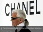 karl lagerfeld artistic director at chanel