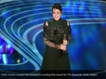 olivia colman accepts the actress in a leading