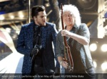 adam lambert l performs with brian may of queen
