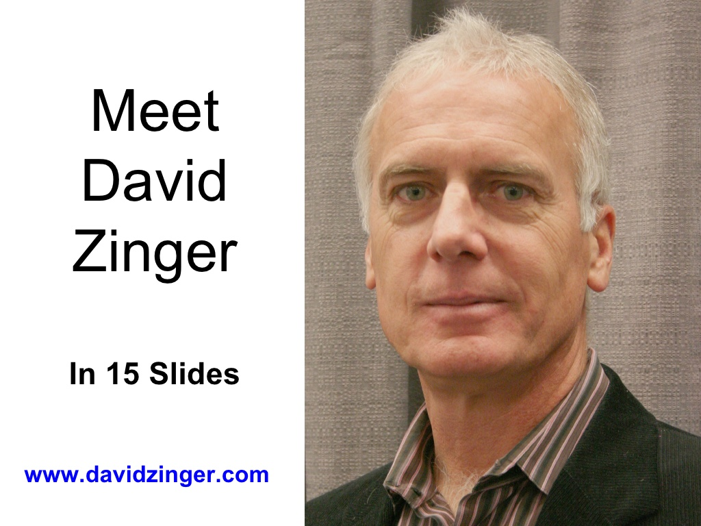 this is david zinger n.