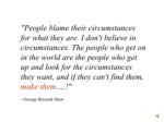 quot people blame their circumstances for what