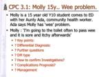 cpc 3 1 molly 15y wee problem br molly