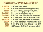 most likely what type of dm br 56 year male obese