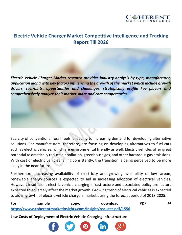electric vehicle charger market competitive n.
