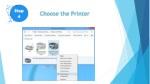 choose the printer