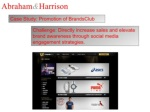 abraham harrison challenge directly increase