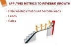 applying metrics to revenue growth