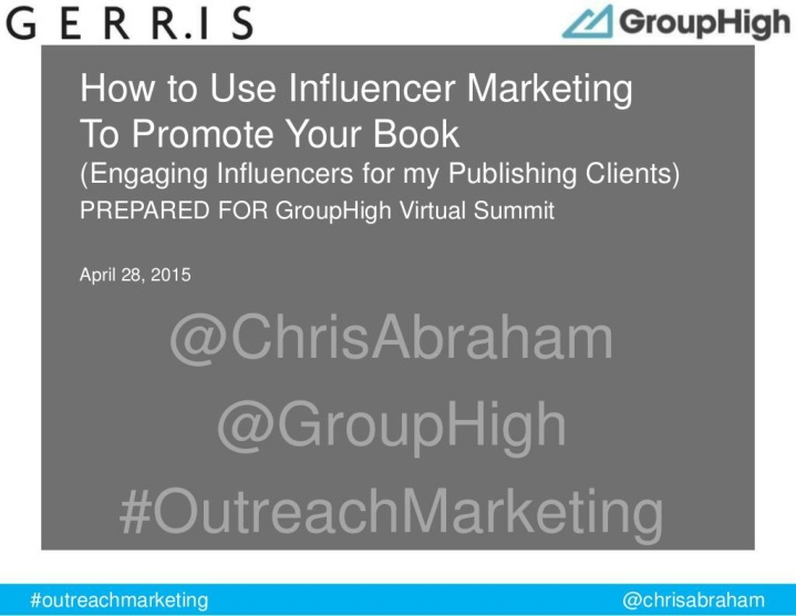 how to use influencer marketing to promote your book n.