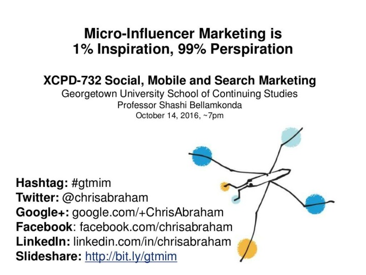 micro influencer marketing is 1 inspiration 99 perspiration n.