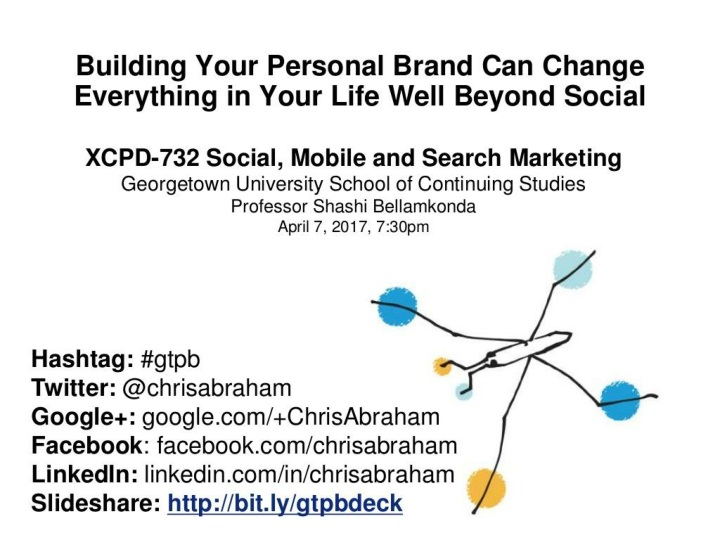 building your personal brand can change everything in your life well beyond social n.