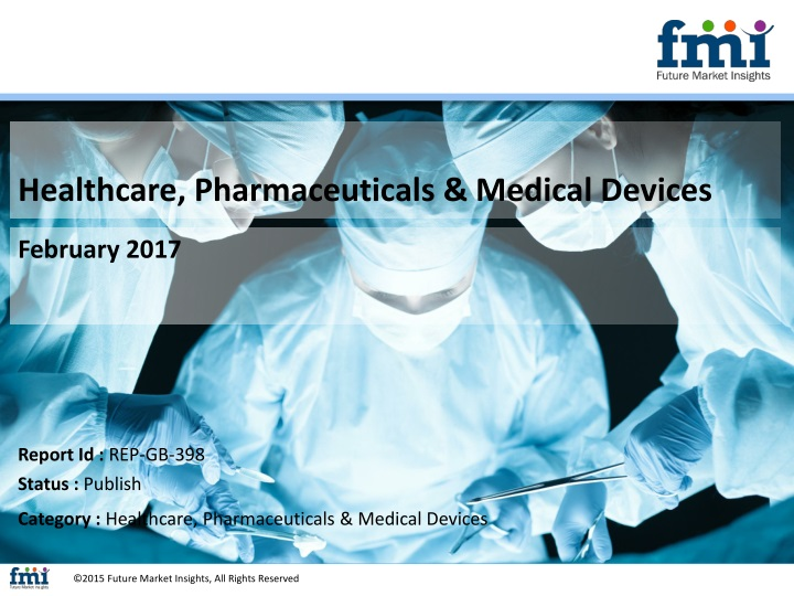 healthcare pharmaceuticals medical devices n.