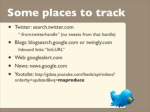some places to track twitter search twitter 4