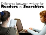 difference between writing for readers 1