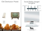 old distribution model social media changed