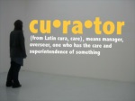 cu ra tor from latin cura care means manager