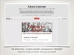 the episcopal church advent calendar