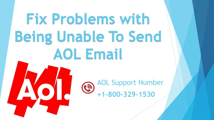 PPT - Fix Problems with Being Unable To Send AOL Email