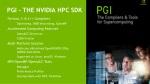 pgi the nvidia hpc sdk