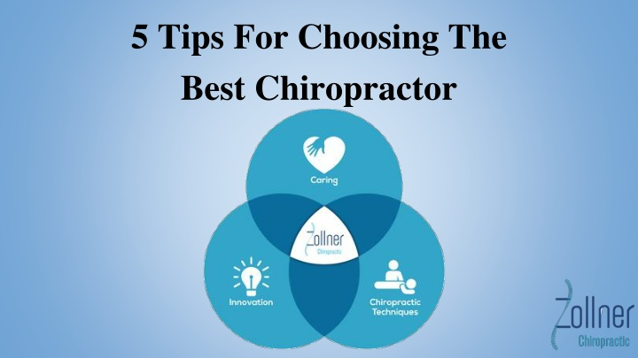 5 tips for choosing the best chiropractor n.