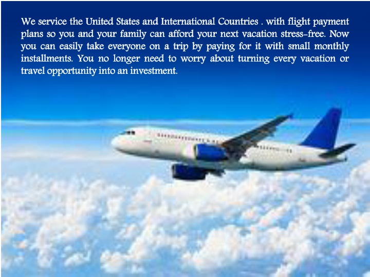 we service the united states and international n.