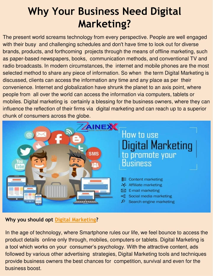 why your business need digital marketing n.